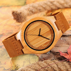 Bamboo Wood Watch Show Stopper