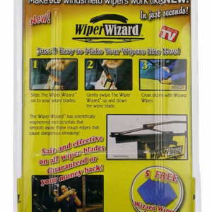Windshield Wiper Blade Restorer Cleaner
