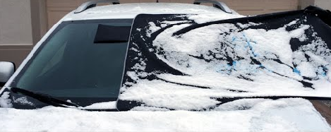 Windshield Snow And Ice Protector