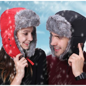 Unisex Faux Fur Bomber With Bluetooth Mic And Earphones